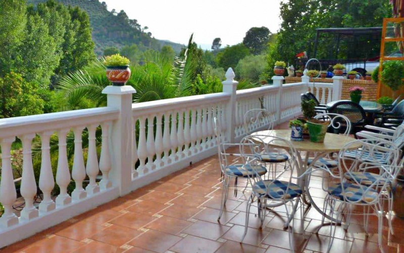 Cottage in the Mountains by the river of Guadalquivir