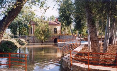 Finca  at the river Guadalquivir